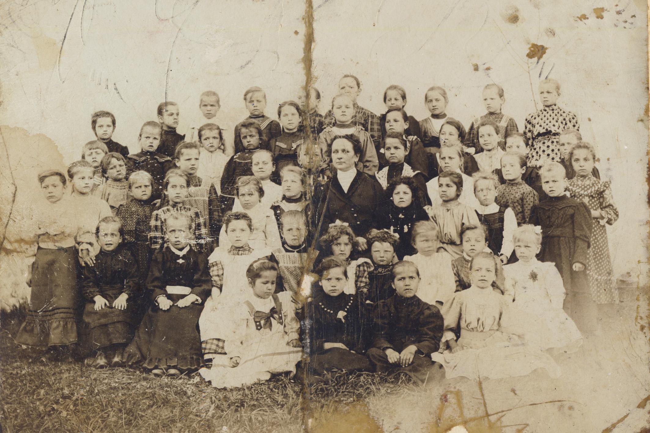 Čipkarska šola 1906